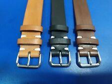 18mm - 20mm - 22mm Nato Strap Correa Reloj cuero piel Pulsera Watch band