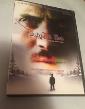 Subject Two (DVD, 2006)