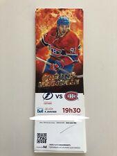 unused hockey tickets Montreal Canadiens 2017 season JONATHAN DROUIN