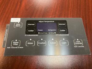 GE Refrigerator Dispenser Overlay only for WR55X10788, Genuine OEM, Brand New