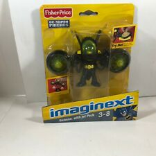 Fisher Price DC Super Friends IMAGINEXT Batman with Jet Pack NEW