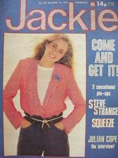 October Jackie Weekly Music, Dance & Theatre Magazines