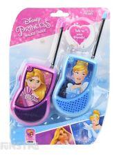 Disney Princess Walkie Talkies Ariel Rapunzel Cinderella Toy Talkie Tangled New