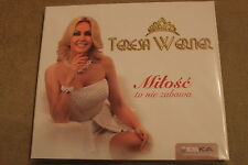 Teresa Werner - Miłość to nie zabawa CD  POLISH RELEASE New Sealed