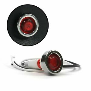 Red LED Indicator Light KICSWIND5RD rat truck street hot rod