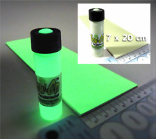 Glow-On ORIGINAL Glow Paint for Firearms Lg 9.2 ml Paint + 7cm x 20cm Glow Film