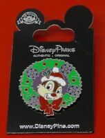 Disney Enamel Pin Badge Dale Character Christmas Happy Holiday on Worn Card
