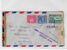 VENEZUELA: 1943 Censored Airmail cover to Scotland (C36445)