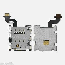USA OEM HTC One M8 831C Sim Card Simcard Holder Connector Slot Flex Cable Ribbon