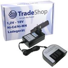 Trade-Shop Akku Ladegerät 1,2V-18V NiCd NiMH für Black & Decker HP146F2 HP146F2B