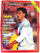 France Football du 2/2/1993; Casoni/ D1 Monaco/ Real/ Coupe, les coulisses