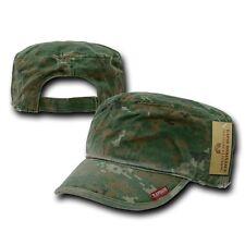 Woodland Digital Camo GI Patrol Military Army Cadet Flat Adjust BDU Cap Hat