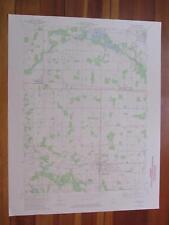 Albion Indiana 1974 Original Vintage USGS Topo Map