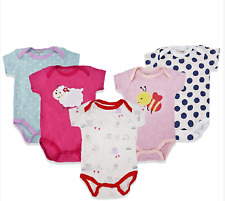 5pcs Shortsleeve Baby Romper For Boys That 6 Months Old (DESIGN MAY VARY)