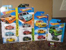 Hot Wheels Nice Lot of 10 Morris Mini Cooper Rally Variation 1960 British Motor