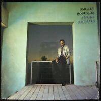 "SMOKEY ROBINSON ""SMOKE SIGNALS"" 1986 VINYL LP 10 TRACKS TEMPTATIONS *SEALED*"