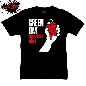 Green Day - American Idiot - Official Band T-Shirt