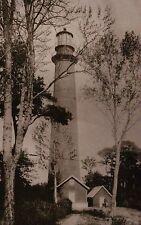 Assateague Lighthouse Chincoteague Virginia c1900, Va Eastern Shore - Postcard