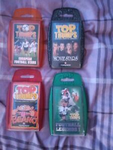 Top Trumps bundle - 4 Packs