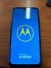 Motorola Moto G7 Xt1962-1 64Gb Black Smartphone Used