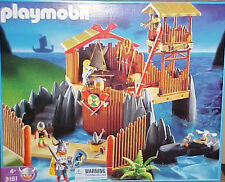 Playmobil 3151 Viking Fortress Playset New Sealed Rare