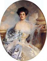 Oil painting John Singer Sargent - Noblewoman The Countess of Essex canvas