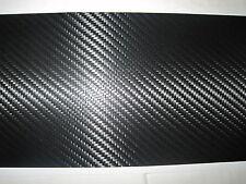"""3D CARBON FIBRE EFFECT VINYL/TAPE  ADHESIVE 11"""" x 8"""""""