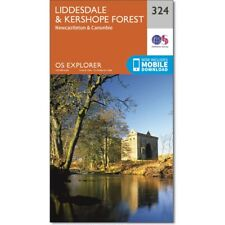 OS Explorer 324:  Liddesdale and Kershope Forest