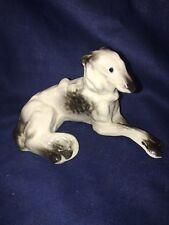 Vintage Porcelain Afghan Dog