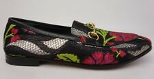 Gucci Jordaan Floral Jacquard Loafers Women's Shoes Size 38 NEW!!