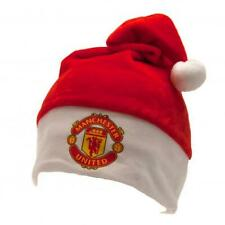 Manchester United FC Official Supersoft Plush Santa Hat