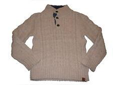 H & M toller Strick Pullover Gr. 122 / 128 beige !!