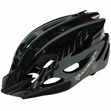 RockBros Cycling Bike Helmet Road MTB Size M/L 57cm-62cm Helmet Gray Black