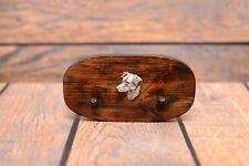 Jack Russel Terrier - wooden hanger with image of a dog, high quality, Art Dog