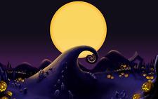 Nightmare Before Christmas - Tim Burton Cartoon Movie Poster / Canvas Pictures