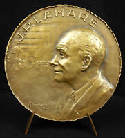 Medal Jean-Paul Lamarre Surgeon Mayor Of Saint-Germain-en-Laye 1946 Medal