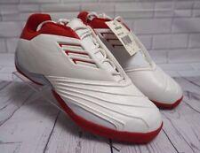 Adidas T MAC II 2 Basketball Tracy McGrady White Red 019483 RARE Men's Size 8.5