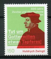 Germany 2019 MNH Huldrych Zwingli Reformation 1v Set Historical Figures Stamps