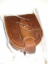 NEW! Genuine Saddleback Leather COIN PURSE in Tobacco with Smooth Pigskin Lining