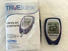 TRUEtrack Blood Glucose Meter, Carring case, Lancing Device, 10 Lancets No Box