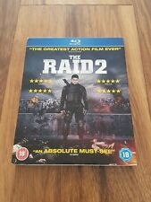 THE RAID 2 - Blu-Ray - Excellent Condition - Free Postage