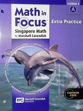Math in Focus Singapore Extra Practice Course 3 A Common Core 8th Grade
