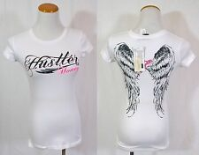 New Without Tag Hustler White Fallen Angel!! Size S