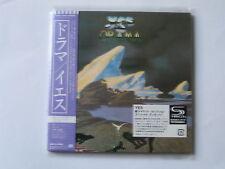 """YES """"Drama"""" + bonus   Japan mini LP SHM CD"""
