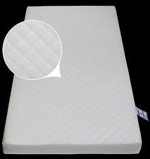 Materasso in schiuma letto Junior 160 x 70 x 10 trapuntato traspirante cerniera coperchio