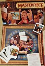 Masterpiece Classic Art Auction Board Game Parker Brothers 1996 Complete