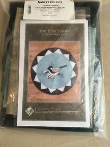 """Nancy's Notions The First Snow 14"""" Wool Penny Rug Kit"""