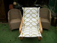 Handmade COVER for IKEA ALME poang chair @ ORLA KIELY L GREEN LINEAR STEMS #8