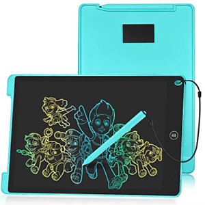 HOMESTEC Colourful LCD Writing Tablet, 12inch Drawing Board Kids Drawing Pad for