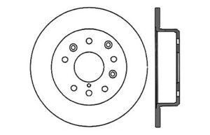 Centric Parts 121.45030 Disc Brake Rotor PRT1736 96107
